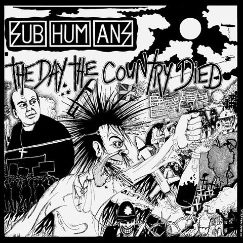 Subhumans Day The Country Died Vinyl Vinyl LP