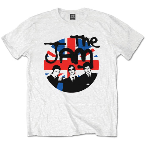Jam Union Jack Circle Band Mens Tshirt