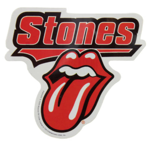 Rolling Stones Tongue Sticker