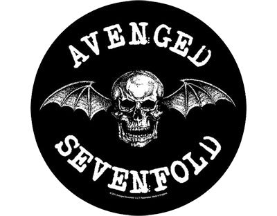 Avenged Sevenfold Death Bat backpatch Backpatche