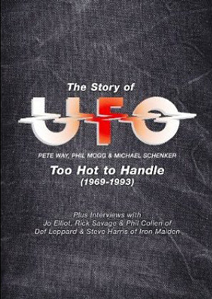 UFO  Too Hot To Handle DVD