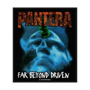 Pantera Far Beyond Driven Woven Patche