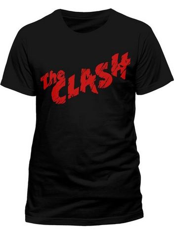 Clash Mens Red Logo T-shirt