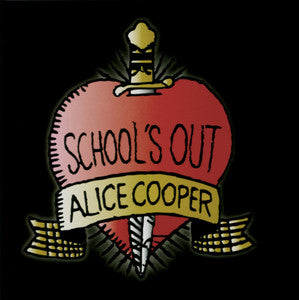 Alice Cooper  Schools Out Greeting Card