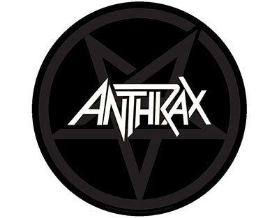 Anthrax Pentathrax backpatch Backpatche