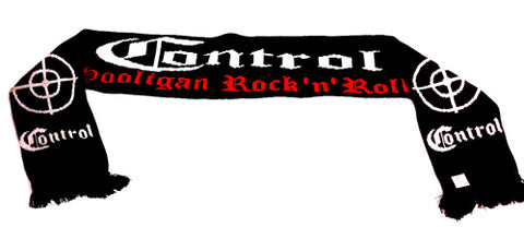 Control Hooligan Rock N Roll Scarve