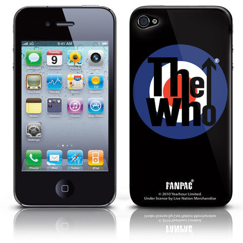 Who Target Logo for iphone 4 and 4G Case