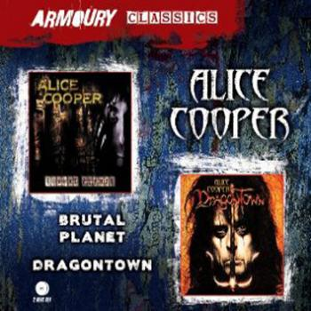Alice Cooper Brutal Planet and Dragontown Double CD CD