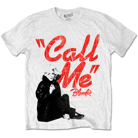 Blondie Call Me Mens Tshirt