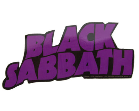 Black Sabbath Logo Sticker