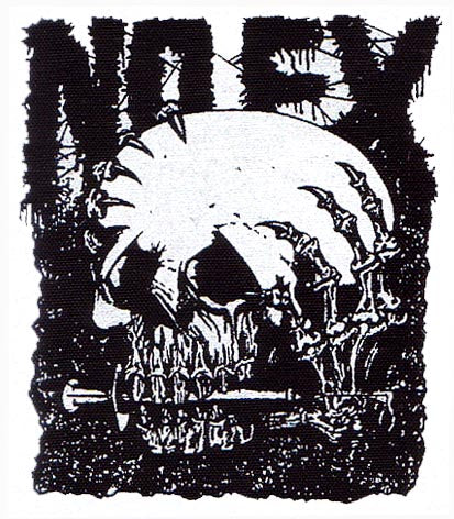 NOFX Old Skull Printed Patche