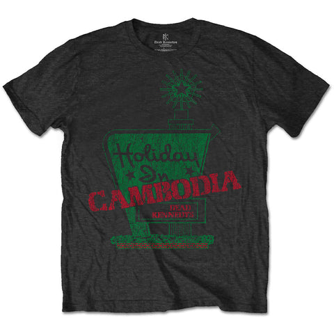 Dead Kennedys Vintage Holiday In Cambodia on grey Mens Tshirt