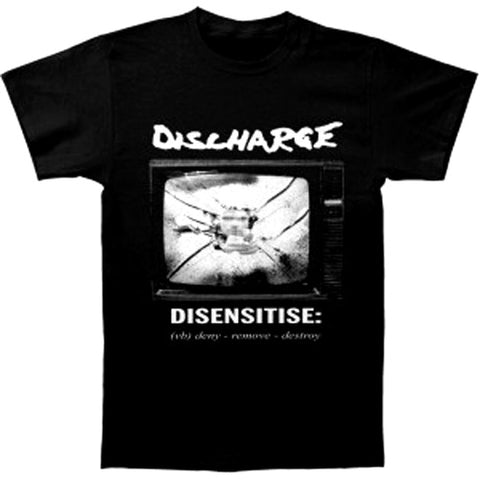 Discharge Dissensitise Mens Tshirt