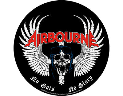 Airbourne No Guts No Glory backpatch Backpatche