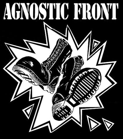 Agnostic Front Boots backpatch Backpatche