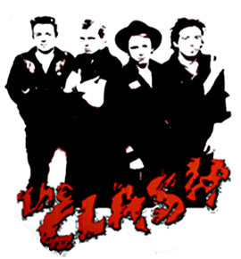Clash Band on white Badge