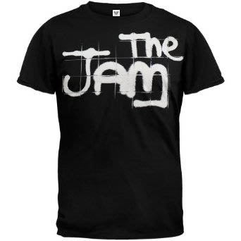 Jam Spray Logo On Black Mens Tshirt