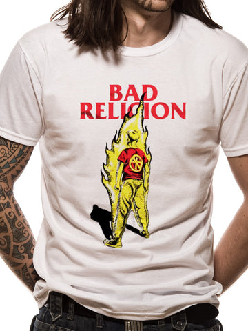 Bad Religion Flame Mens Tshirt