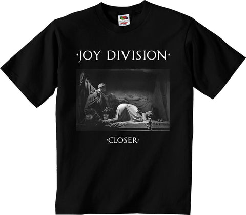 Joy Division Closer on Black Mens Tshirt