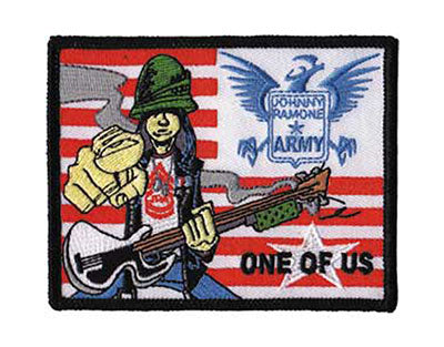 Ramones One Of Us Woven Patche