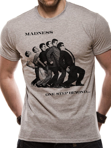 Madness One Step Beyond Grey T-shirt