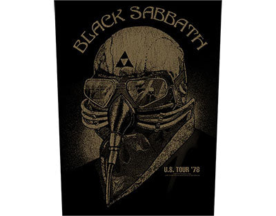 Black Sabbath Creature 78 Tour Backpatch Backpatche