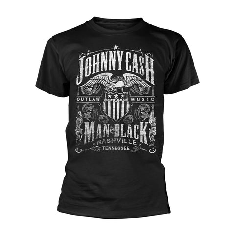 NASHVILLE LABEL - Mens Tshirts (JOHNNY CASH)
