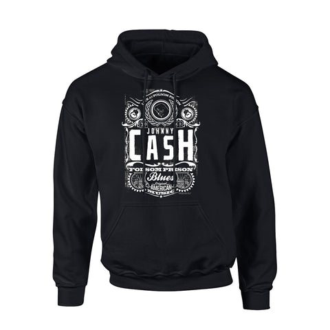 FOLSOM PRISON - Mens Hoodies (JOHNNY CASH)