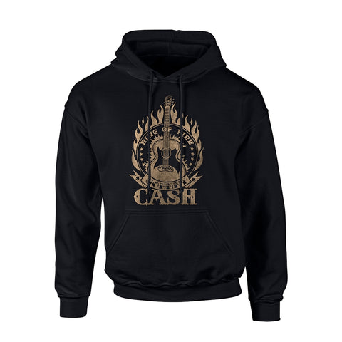 RING OF FIRE - Mens Hoodies (JOHNNY CASH)