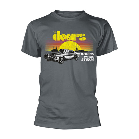 RIDERS ON THE STORM - Mens Tshirts (DOORS, THE)
