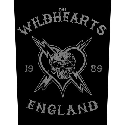 The Wildhearts - England Biker Backpatch