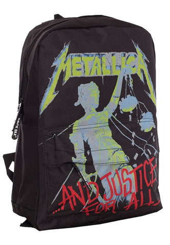 AND JUSTIC FOR ALL (RUCKSACK) - Bags (METALLICA)