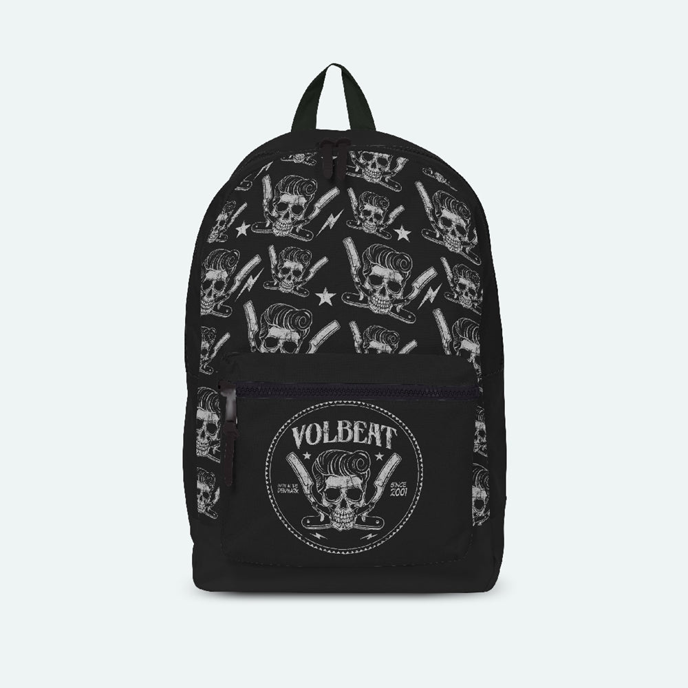 Barber Aop Rucksack Bags Volbeat Punk Rock Shop