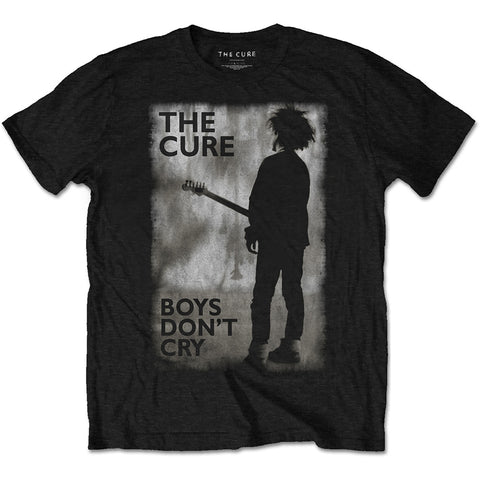 Cure - Boys Don't Cry Black/White Men's T-shirt