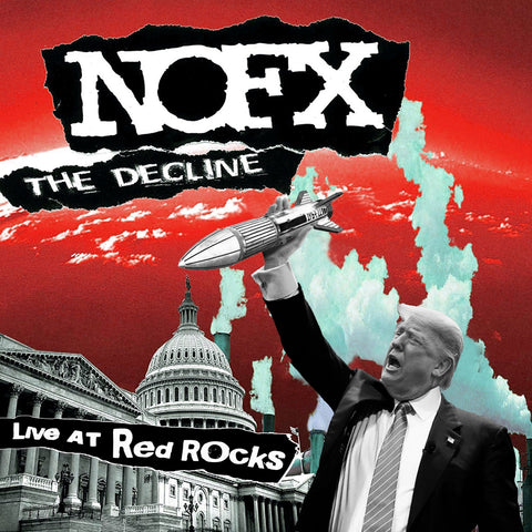 THE DECLINE LIVE AT RED ROCKS - Vinyl LP (NOFX)