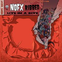 RIBBED - LIVE IN A DIVE - Vinyl LP (NOFX)