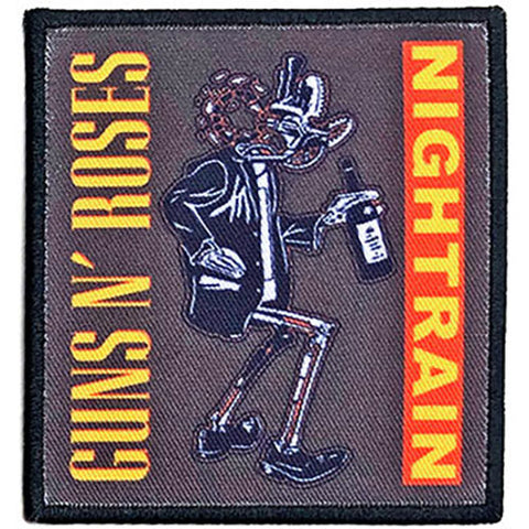 Guns 'N' Roses - Nightrain Robot Woven Patch
