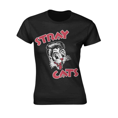 CAT LOGO - Womens Tops (STRAY CATS)