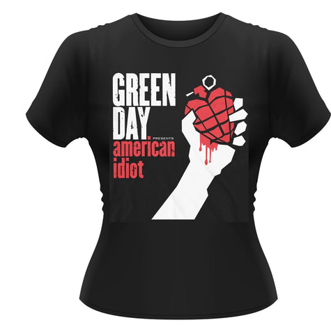 AMERICAN IDIOT - Womens Tops (GREEN DAY)