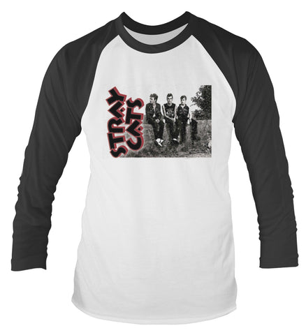 BAND PHOTO - Mens Longsleeves (STRAY CATS)