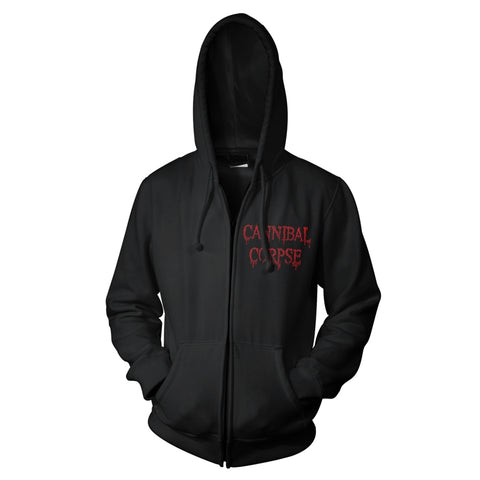 RED BEFORE BLACK - Mens Hoodies (CANNIBAL CORPSE)