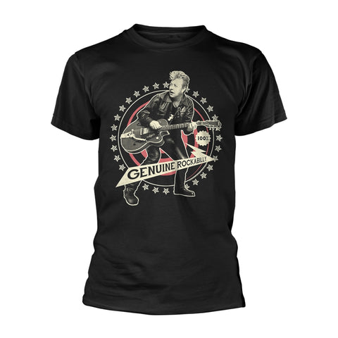 GENUINE ROCKABILLY - Mens Tshirts (BRIAN SETZER)