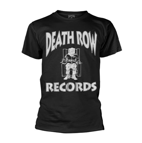 LOGO (BLACK) - Mens Tshirts (DEATH ROW RECORDS)