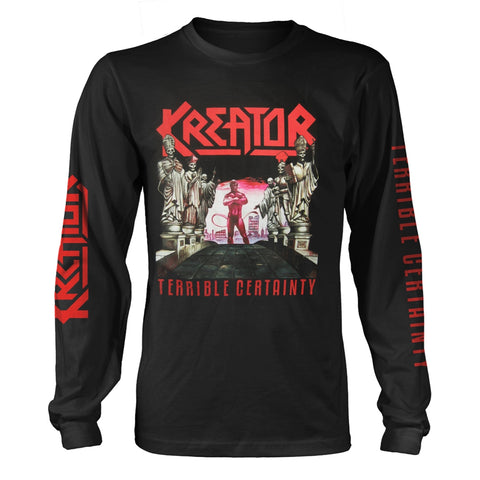 TERRIBLE CERTAINTY - Mens Longsleeves (KREATOR)
