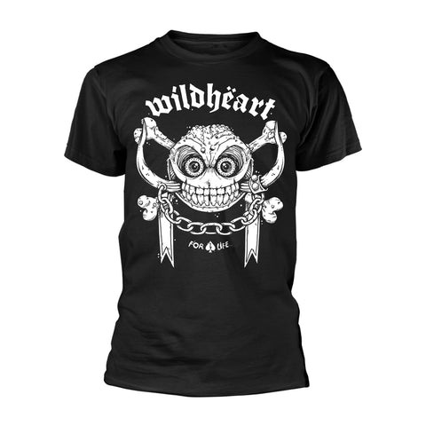 FOR LIFE - Mens Tshirts (WILDHEARTS, THE)