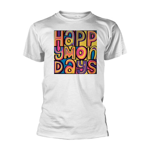 HAPPY MONDAYS (WHITE) - Mens Tshirts (HAPPY MONDAYS)