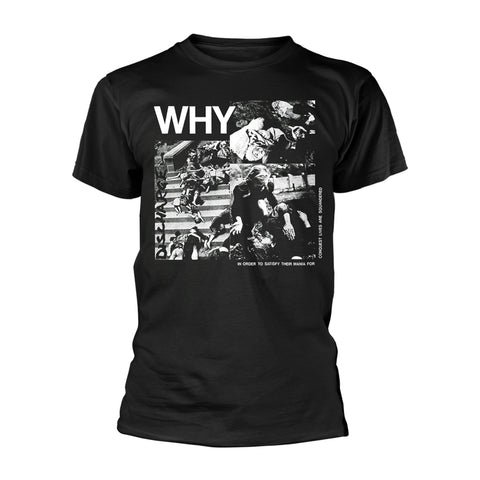 WHY? - Mens Tshirts (DISCHARGE)