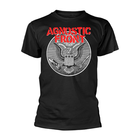 AGAINST ALL EAGLE - Mens Tshirts (AGNOSTIC FRONT)