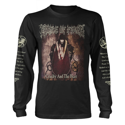 CRUELTY AND THE BEAST - Mens Longsleeves (CRADLE OF FILTH)