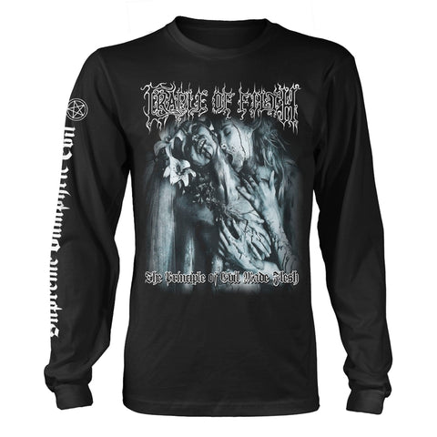 THE PRINCIPLE OF EVIL MADE FLESH - Mens Longsleeves (CRADLE OF FILTH)